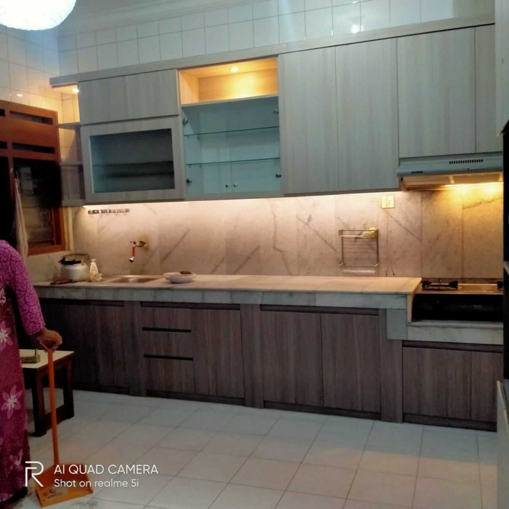 jual kitchen set modern 3