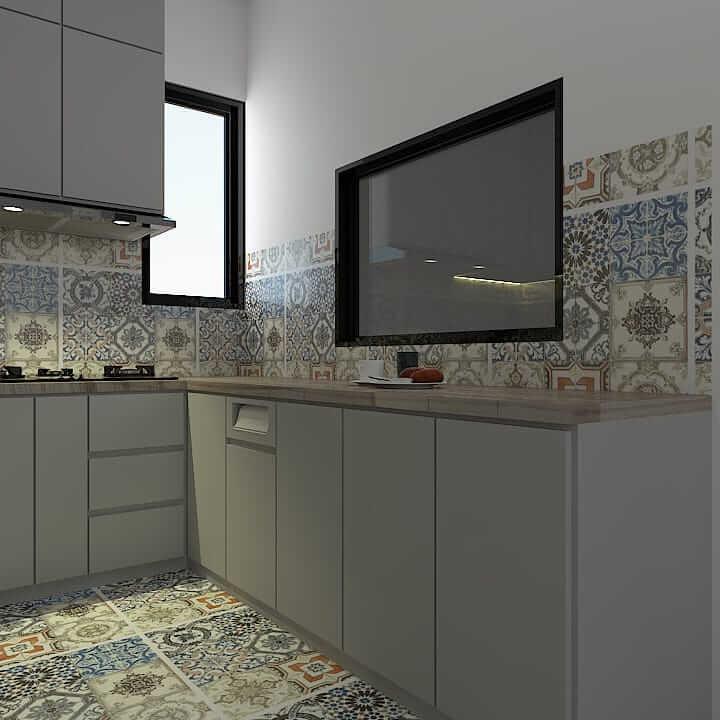 kitchen set minimalis cibubur 3