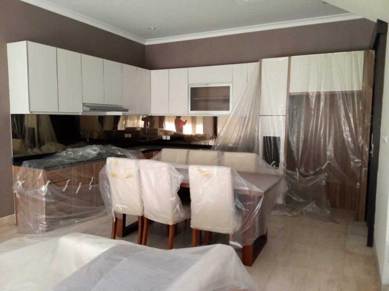 kitchen set modern mewah