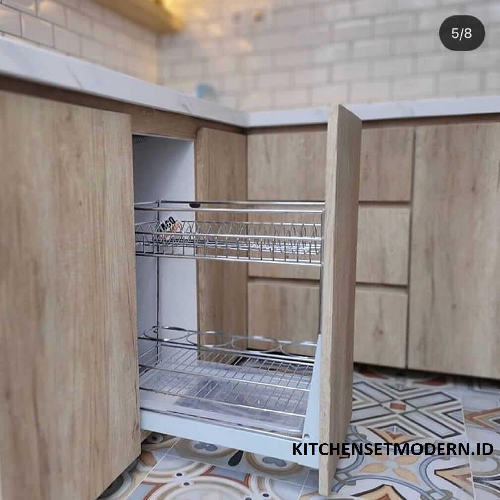 rak peralatan dapur minimalis