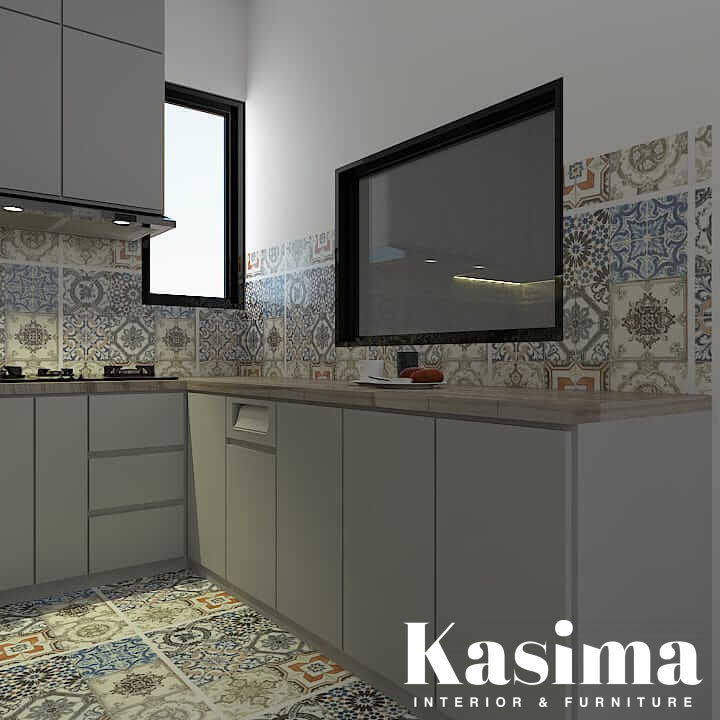 kitchen set minimalis cibubur 1